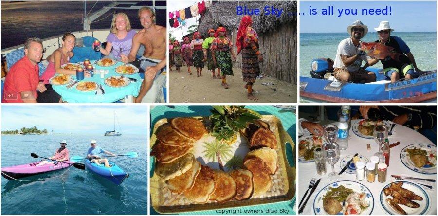 San blas,canada winter, yacht holiday