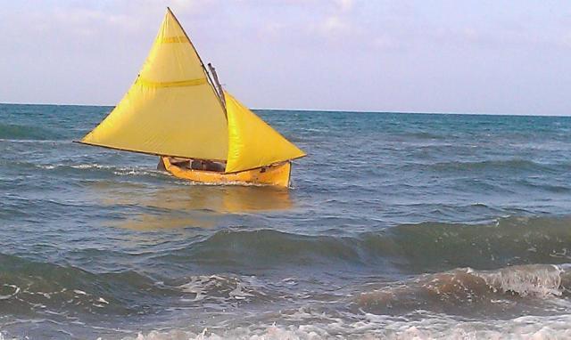 traditional sailing boat, charter, panama