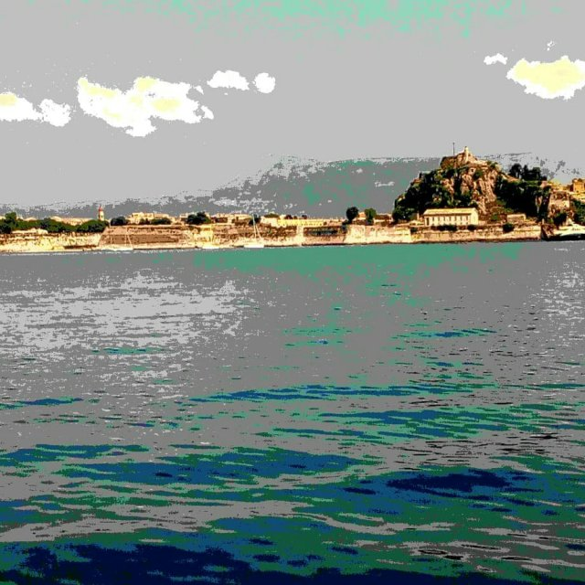Corfu Town and Fort. Sailing Ionian. SailingSkipper
